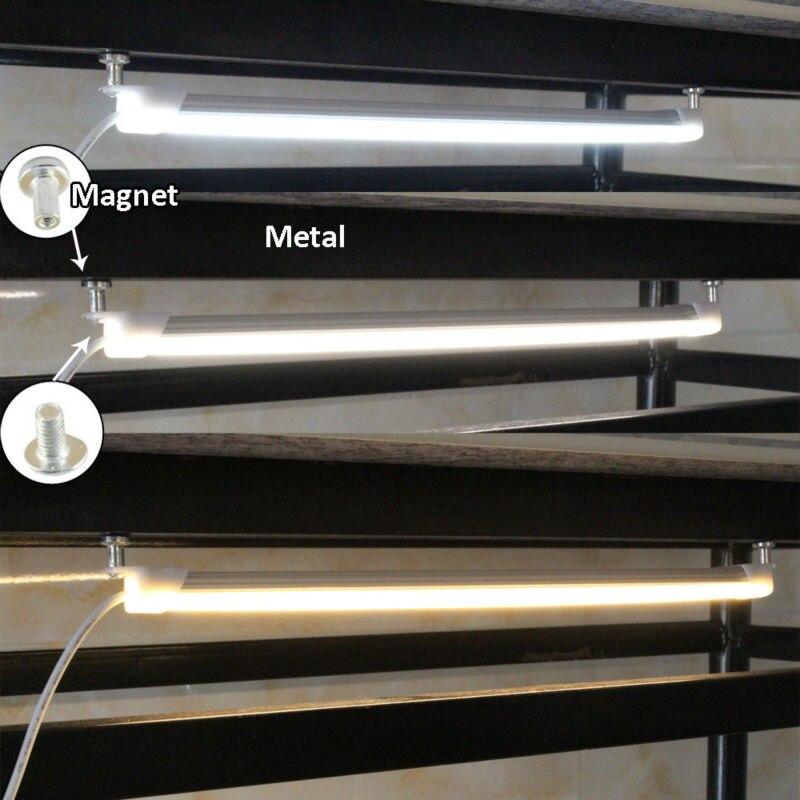USB LED svjetlo Bar 5V kruta LED traka za kuhinju Zatamnjena - LED Rasvjeta - Foto 2