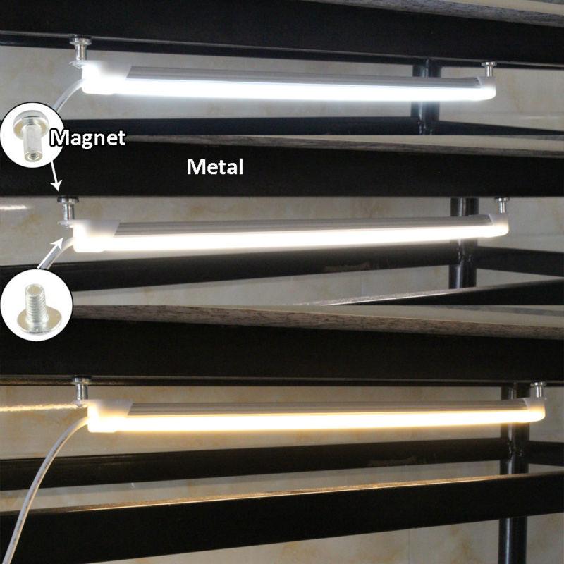 Luzes Led Bar alumínio barra de luz para Base : Magnet