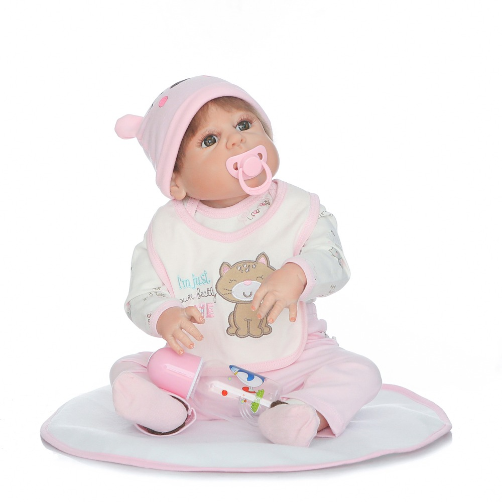 Bebes reborn NPK 23 Full Silicone Reborn Baby Doll Toys Like  Newborn Babies alive GIRL Doll Birthday Gift  Bonecas Bebes reborn NPK 23 Full Silicone Reborn Baby Doll Toys Like  Newborn Babies alive GIRL Doll Birthday Gift  Bonecas