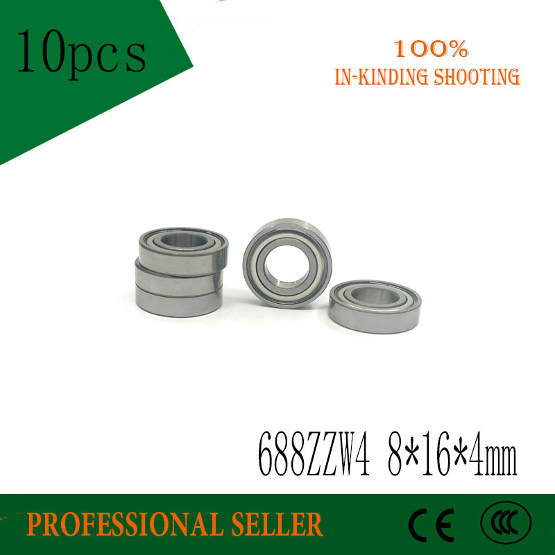 10PCS 688ZZW4 Embroidery Machine Textile Machine Dedicated Bearing L1680 8x16x4mm