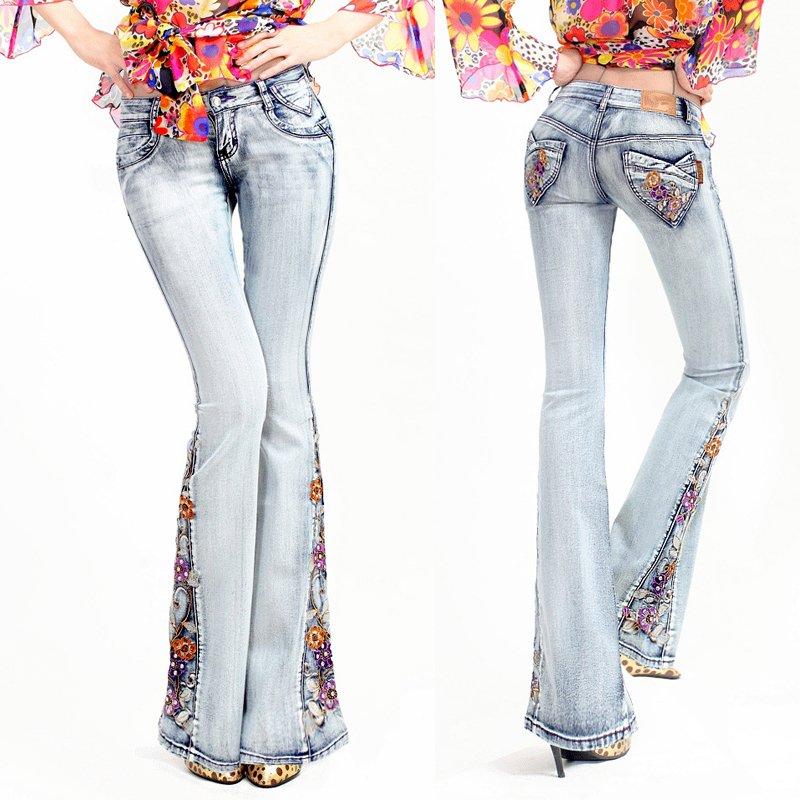 Popular Bell Bottom Jeans-Buy Cheap Bell Bottom Jeans lots
