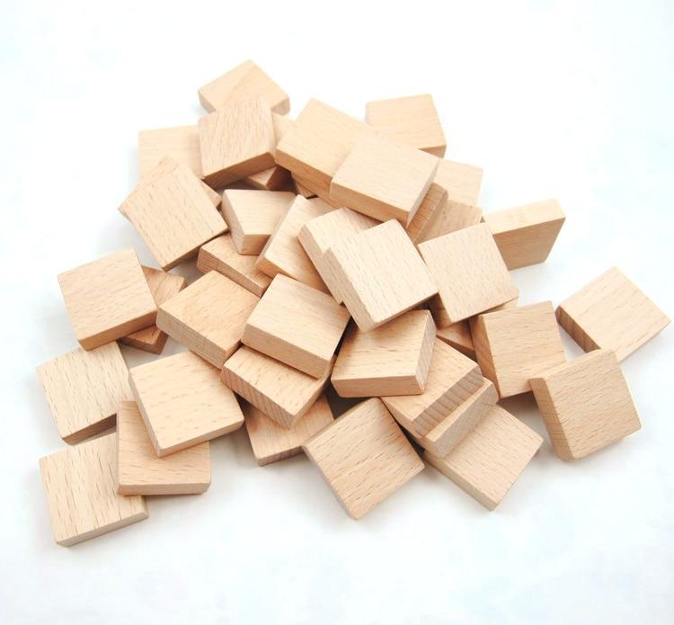 Gebäude & Konstruktionsspielzeug 10 Stück Baby Spielzeug Glatte Oberfläche Holz Cube Domino Bausteine Handgemachte Diy Handwerk Decor Zimmer Bpa Frei Food Grade Holz Geschenke Um Eine Reibungslose üBertragung Zu GewäHrleisten