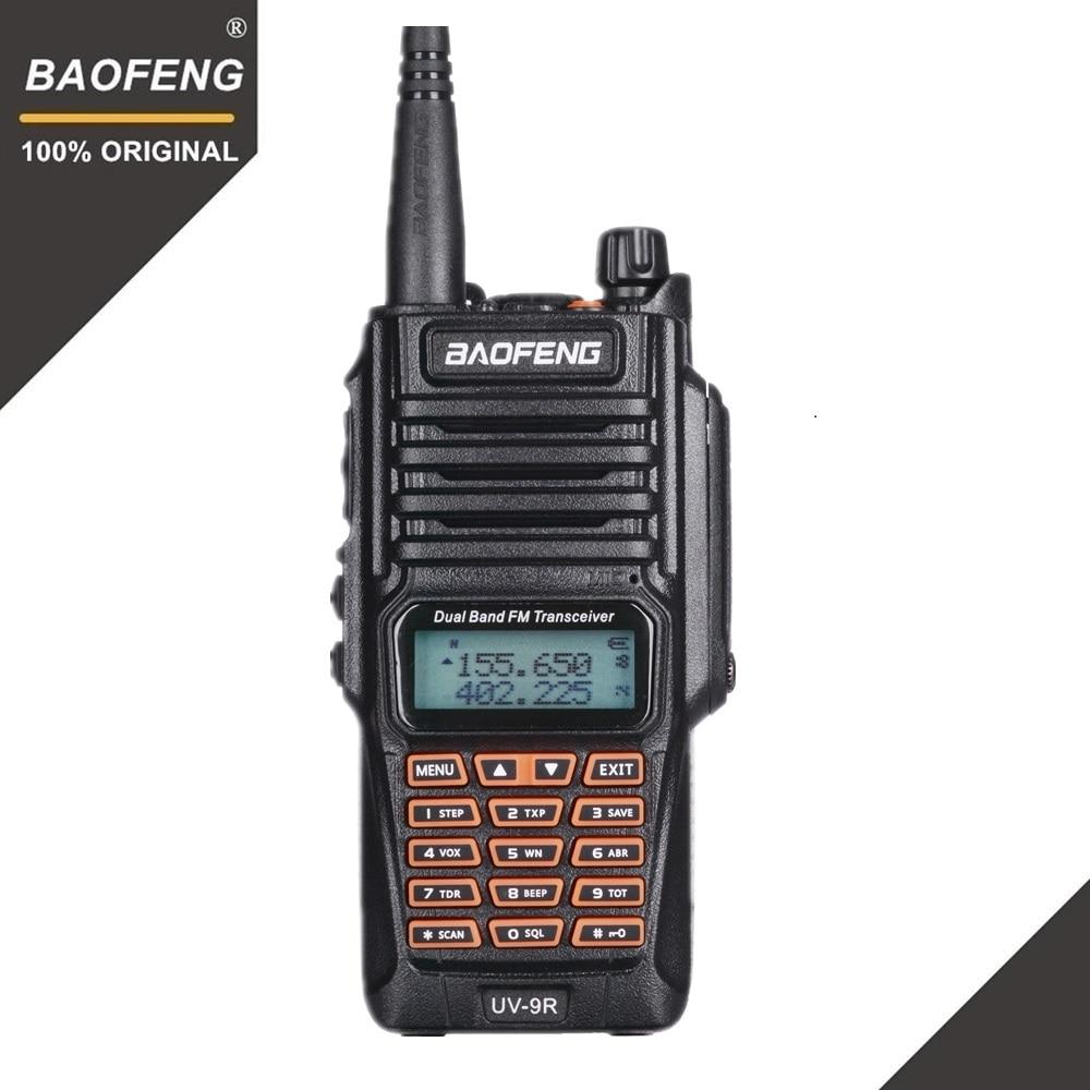 D'origine Baofeng UV-9R IP67 8 w Longue Portée Talkie Walkie 10 km Amateur Radio Double Bande UV9R Portable CB Radio communicateur UV 9R