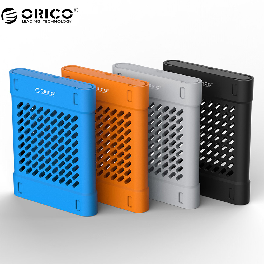ORICO PHS-25 2.5 Inch Silicone Protective Box / Storage Case Hdd Storage Case For Hard Drive Black/Blue/Gray/Yellow