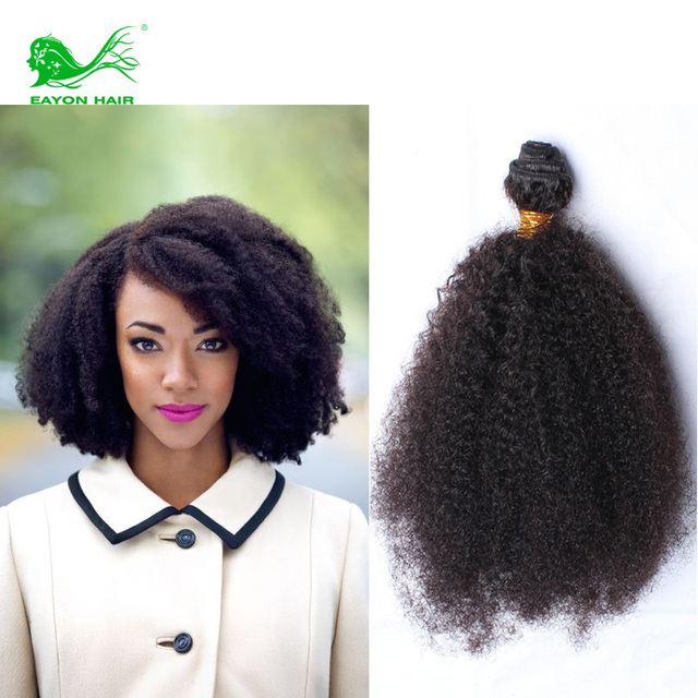 Brazilian Afro Kinky Curly Human Hair Extensions Virgin Hair Kinky