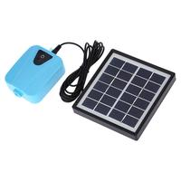 Adeeing Solar Powered Oxygenator Water Oxygen Pump Pond Aerator Aquarium Airpump