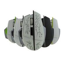 Bts-603 3.0 Carga Inalámbrica Bluetooth Optical Mouse por 8 Botones 1600 DPI Profesional Gaming Mouse Ratones Para PC MAC Win 8