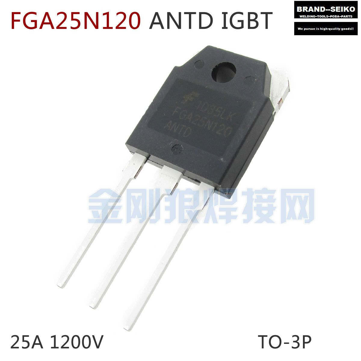 ФОТО 10PCS/LOT Repair welding inverter commonly used components FGA25N120 25 a 1200 v IGBT single tube