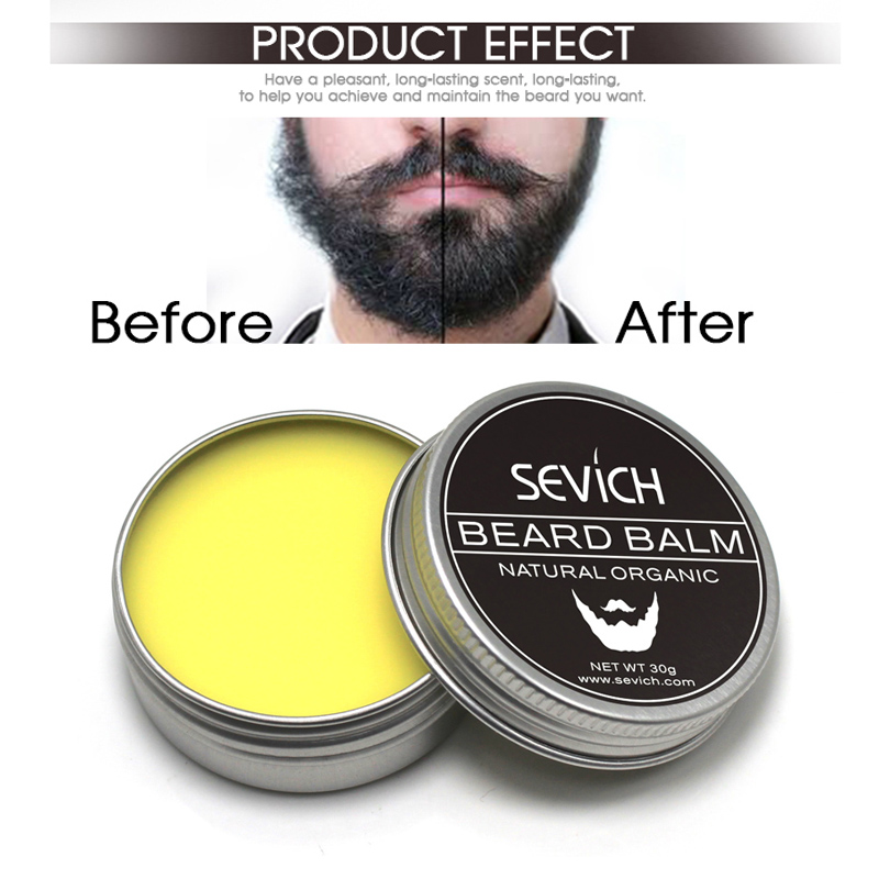 Sevich Natural Beard Product Conditioner Professional Beard Balm For Beard Growth Organic Moustache Wax For Beard Smooth Styling in Hair Loss Products from Beauty Health