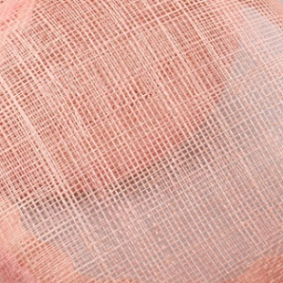 Желтая Свадебная расческа для волос sinamay, аксессуары для волос, Популярные головные уборы для женщин, вечерние головные уборы - Цвет: Розовый