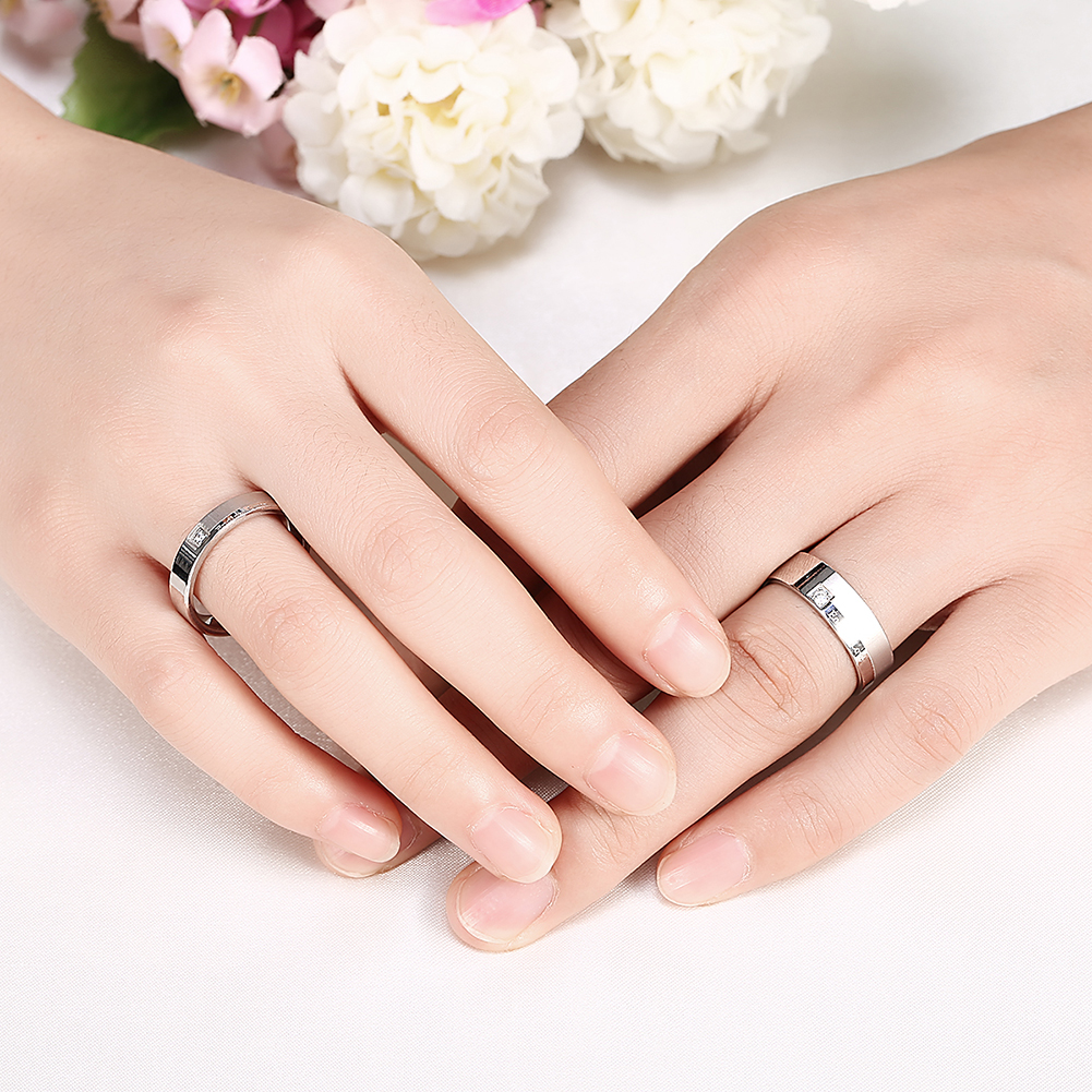 heart silver hollow jewelry arrival letter jewelora new for rings promise love women engraved ring endless sterling