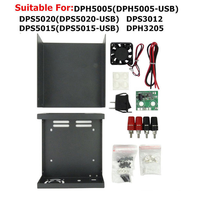 DPS3005 Alimentazione Borsette DPS3003 DPS5005 DP30V5A DP30V3A LCD DP20V2A Nero Digitale Programmabile Modulo DP50V5A