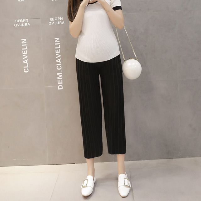 LANMEIHU 2017 Spring plus size maternity clothes pants maternity pants pregnancy pants Loose casual trousers maternity overalls