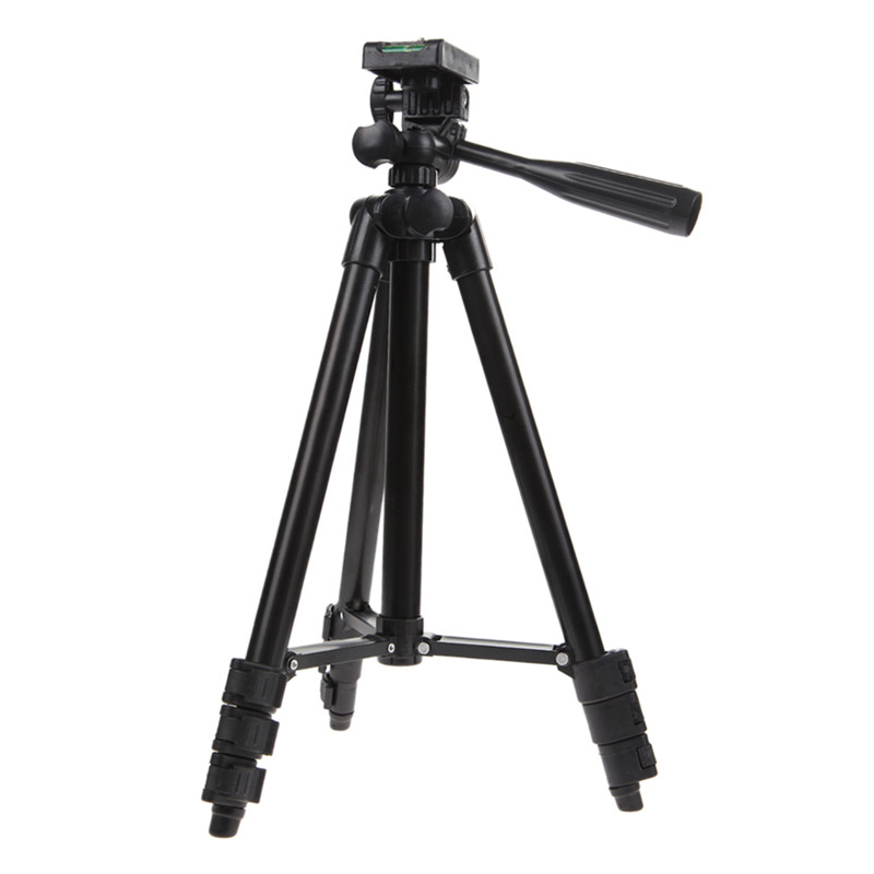 Professional Flexiable Travel Tripod For Digital Camera Camcorder Video Tilt Pan Head With Carry Bag