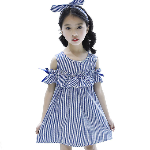 0f24675b106ae Bebek kız yay elbise 2018 yeni moda Prenses dantel straplez bow elbise  çocuk yaz kıyafetleri