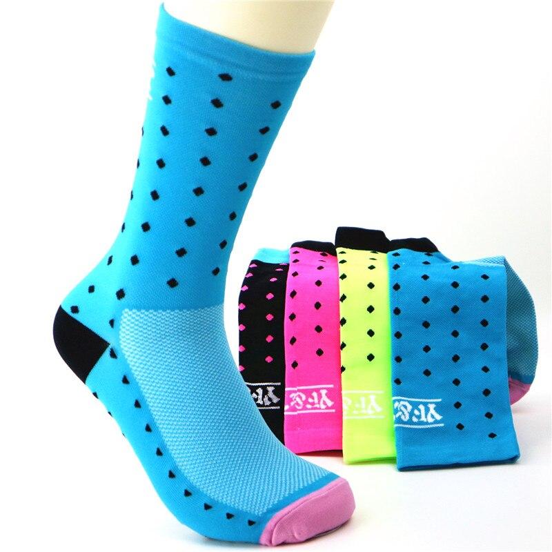 YF&TT Brand Sport Running Socks Women Cycling Riding Basketball Socks Hiking Climbing Camping Tennis Baseball Volleyball Socks