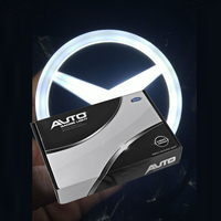 Shenlao 5sets for Mercedes Benz w124 w205 w203 w204 w212 ang w211 w210 w202 Rear Badge Logo Light Led Emblem Logo Lights