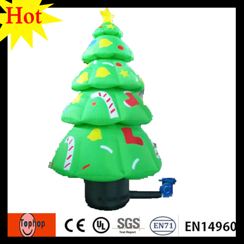 3m 10ft wholesale inflatable artificial christmas tree parts halloween party decoration 420d oxford in inflatable bouncers from toys hobbies on - 10 Ft Artificial Christmas Trees