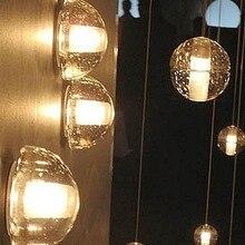 BOCCI LED Льда Bubble Art Украшения Кристалл Лампы Чердак Свет Стены Кафе-Бар Кафе Магазин Зал Клуб