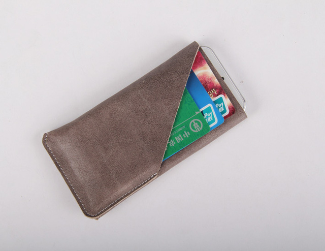 simple desing more function leather case for iphone one pcs in dropshop for oversea online selloer