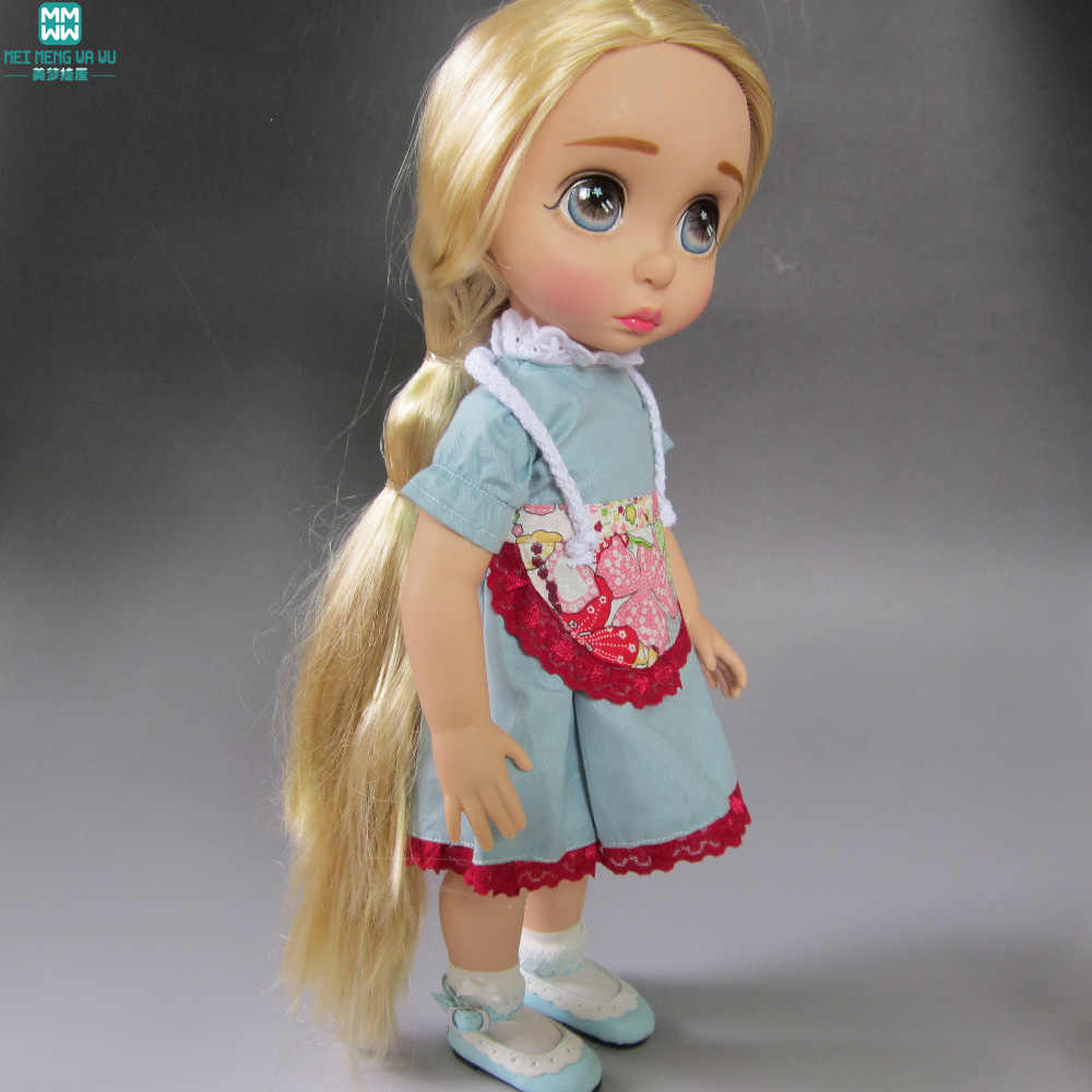 Doll accessories clothes for 40cm Anna Elsa Salon Doll dress for child gift