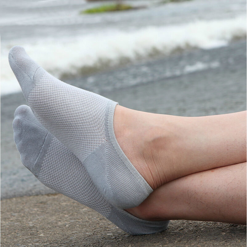 6pcs=3pair Boat Sock New Hot Sale Summer Style Men Low Socks Brand Quality Invisible Cotton Socks Slippers Calcetines De Mujer