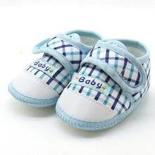 Baby shoes newborn Baby Boys Girls Soft Sole Prewalker Warm Casual Flats Shoes Cotton Fabric  Suit for 3-12Month 17Nov14