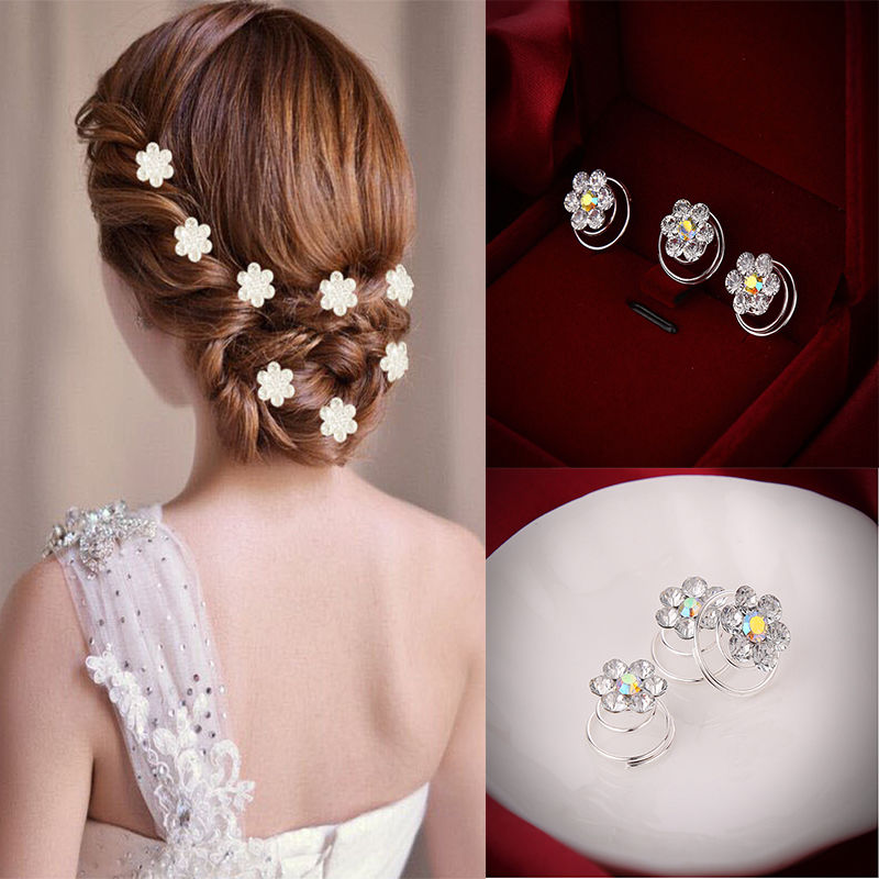Aliexpress Com Buy 12 Pcs Delicate The Bride Hair Pins