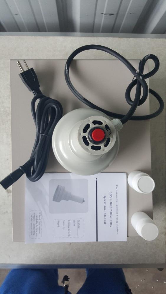 2016 New Handheld Induction Heat Sealer Bottle Cap induction Sealing Machine 20-100 mm 110V/220V цена