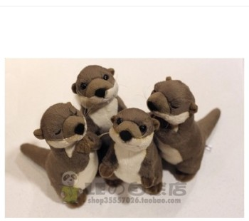 Free shipping 20cm Stuffed Animals Polar Sea World Simulation  Cute Otter Doll Toy for children gift 40cm cute otter plush toys artificial river otter doll baby stuffed plush doll animals doll wholesale drop shipping new style