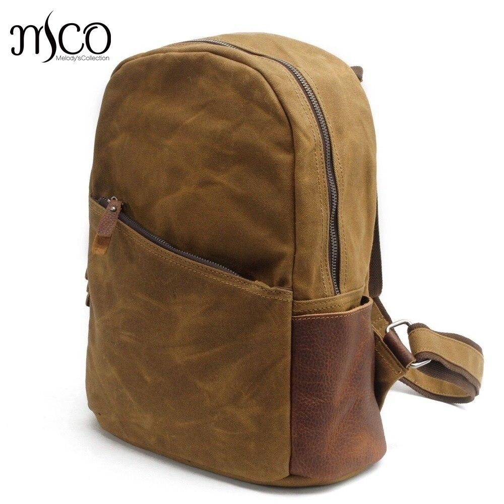 School bags for youth - Unisex Canvas Vintage Backpack Youth School Bags Men Casual Laptop Bag Women Bookbag Shoulder Bag New