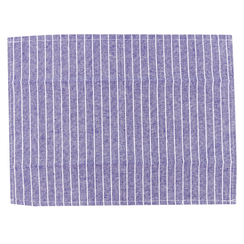 Table Napkins Cotton Linen Stripe Placemat Home For Kitchen Table Baking Dish Cleaning Supplies Napkin Rectangular Stripy Soft Cotton Rag Table & Sofa Linens