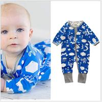Infant rompers kids Jumpsuits new born baby clothes 1st birthday costume cotton printing baby clothes baby unisex