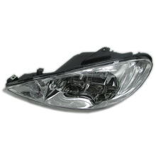 for Dongfeng Peugeot 206 2005-2008 headlight assembly headlight front headlight with dimmer