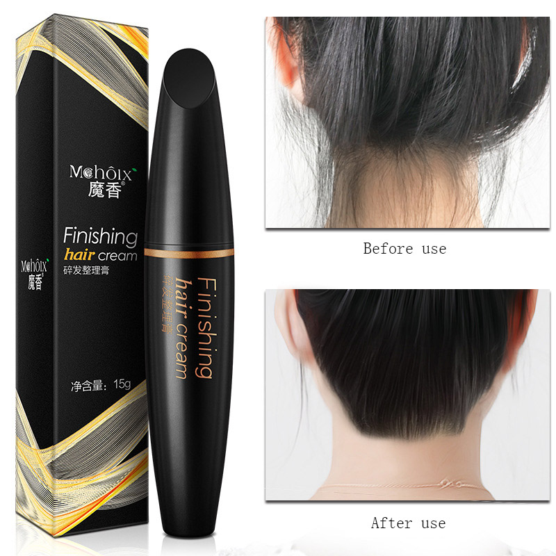 Broken Hair Finishing Cream Hair Anti-hairy Fluffy and Non-greasy Finalize The Design Broken Hair Artifact Woman Hair Wax Bar