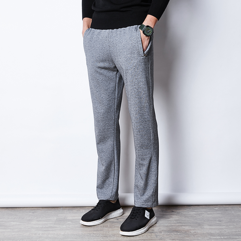 140kg Can Wear Men Sport Pant Loose Sweatpants Zip Pocket Man Trousers 2018 New 7XL 8XL 9XL Large Workout Gym Male Running Pants men zip pocket peg leg pants