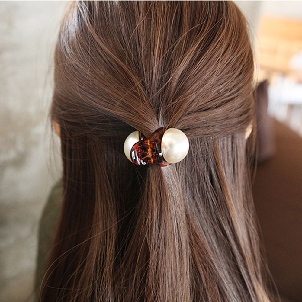 Hot Fashion 1PC Fashion Girls Pearl Hairpins Gifts Mini Hair Claw Vintage Retro Hair Clips Hair Styling Tools For Dropshipping
