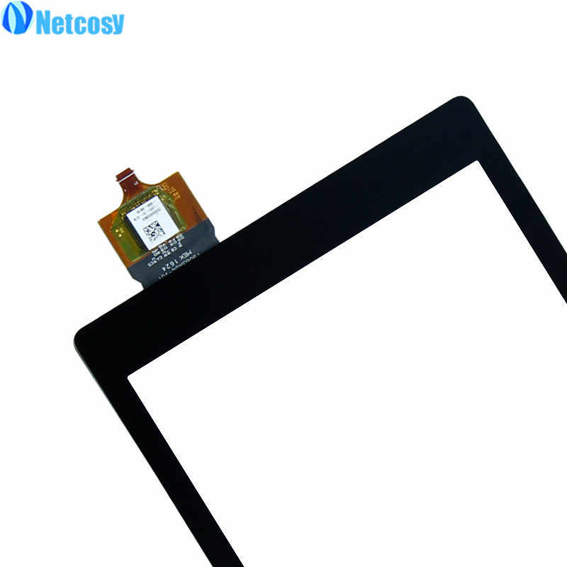 Digitalizador de pantalla táctil Lente de Cristal del Sensor del Panel para Amazon Kindle Fire HD 8 HD8 2016 tablet 2017 panel táctil para amazon HD8