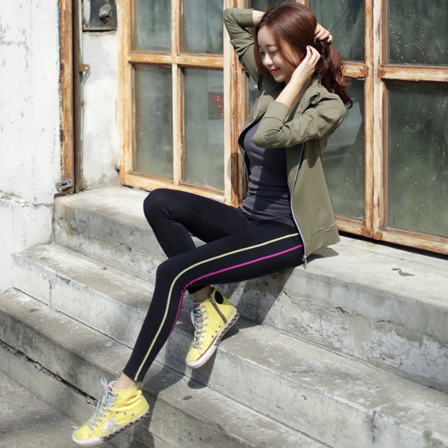 yoga pants women sports elastane tights legging quick dry gym running fitness for high quality women leggings
