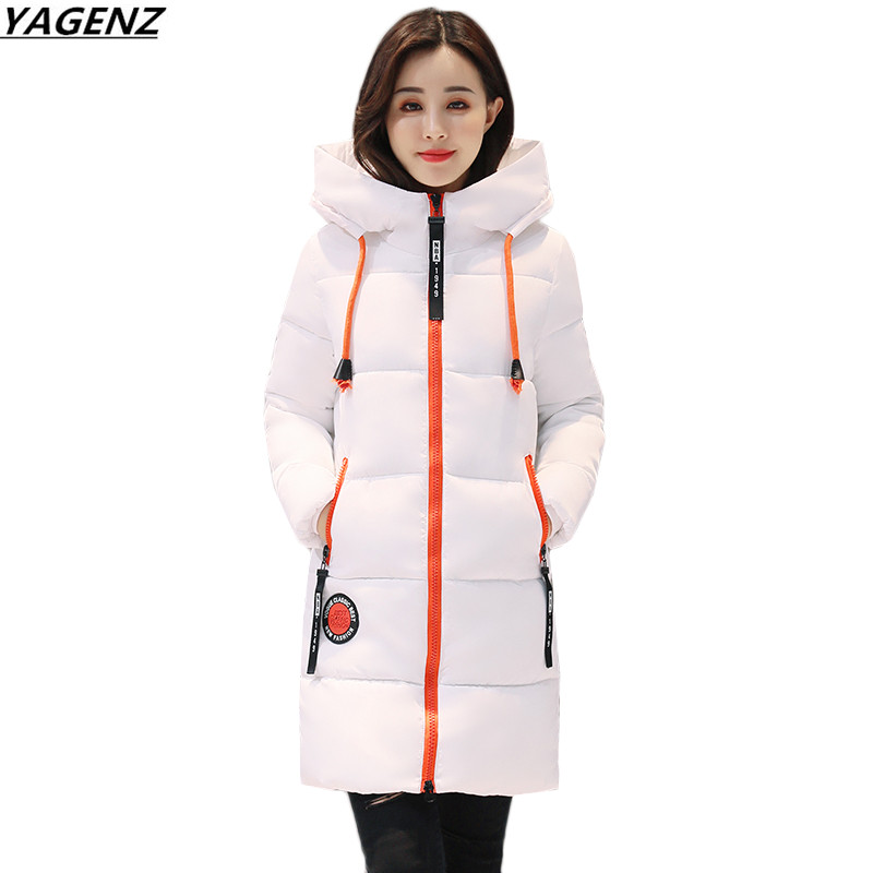 2017 Winter Thickening Women Parkas Women's Wadded Jacket Outerwear Plus Size 3XL Fashion Cotton-padded Jacket Long Coat YAGENZ winter thickening women parkas women s wadded jacket outerwear fashion cotton padded jacket medium long loose casual parka c1142