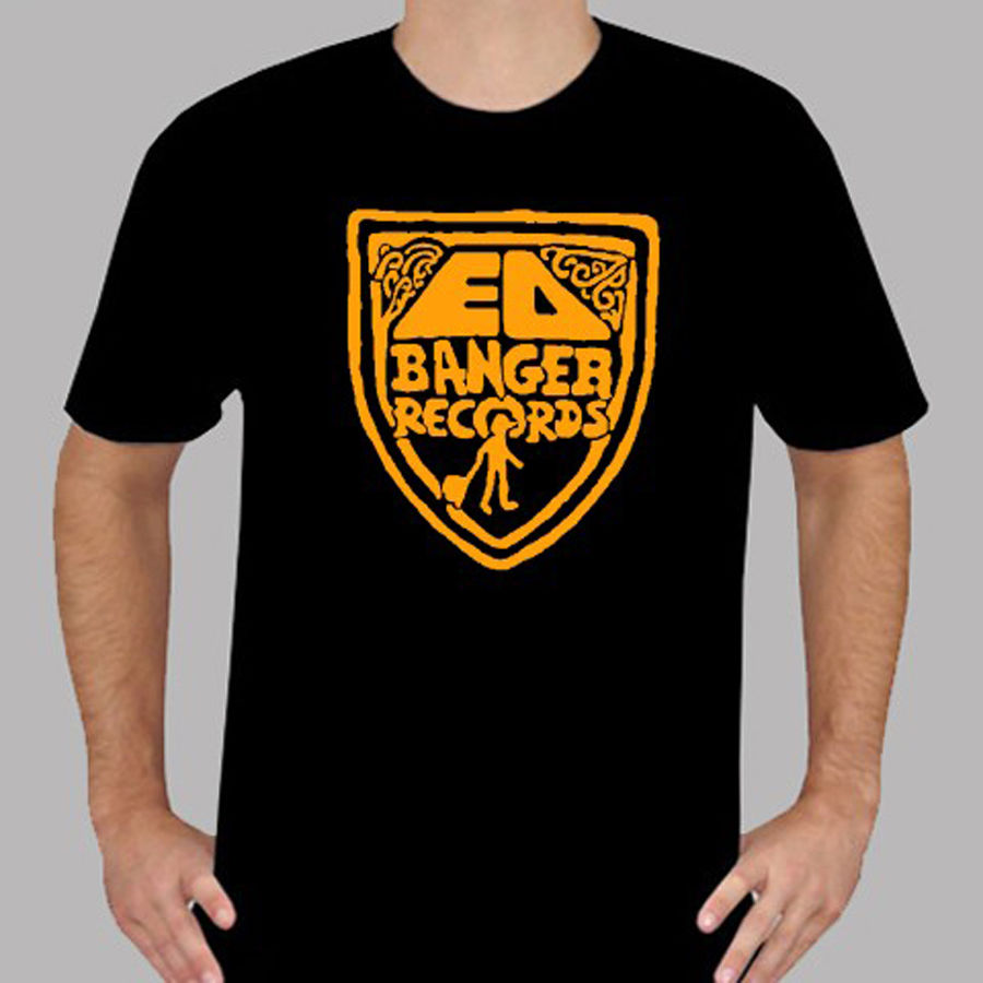 New Ed Banger Records Logo Electronic Music Mens Black T-Shirt Size S to 3XL Chinese Style