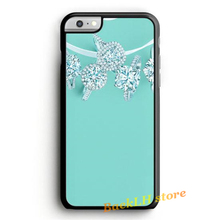 Tiffany And Co fashion case cover for iphone 4 4S 5C 5 5S SE 6 6S 6 plus 6s plus 7 7 Plus #O745