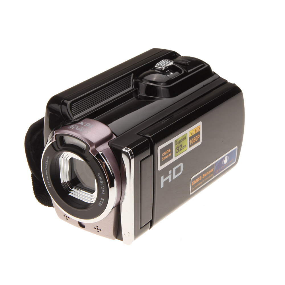 Portable Full HD 1080P 16.0 MP 16x Digital Zoom Video Camera Camcorder DV Kit Anti shake dv613a full hd 1080p digital video recorder camcorder 16x zoom digital dv camera kit black video camera up 16mp