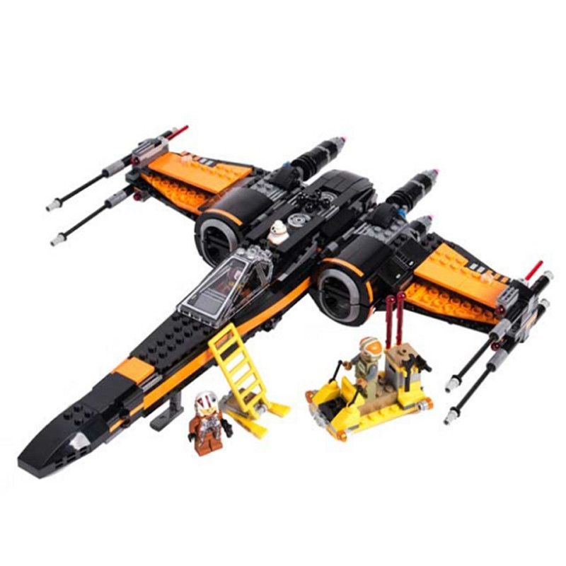 Lepin star wars X Wing 05004 legoing starwars The First Order X Wing Fighter 75102 Bricks Kids Toys Christmas Birthday Gifts 1