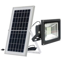 Xinpuguang 10W 20W 30W 50W solar panel solar floodlight camp Spotlight LED Wall Lamps for Garden