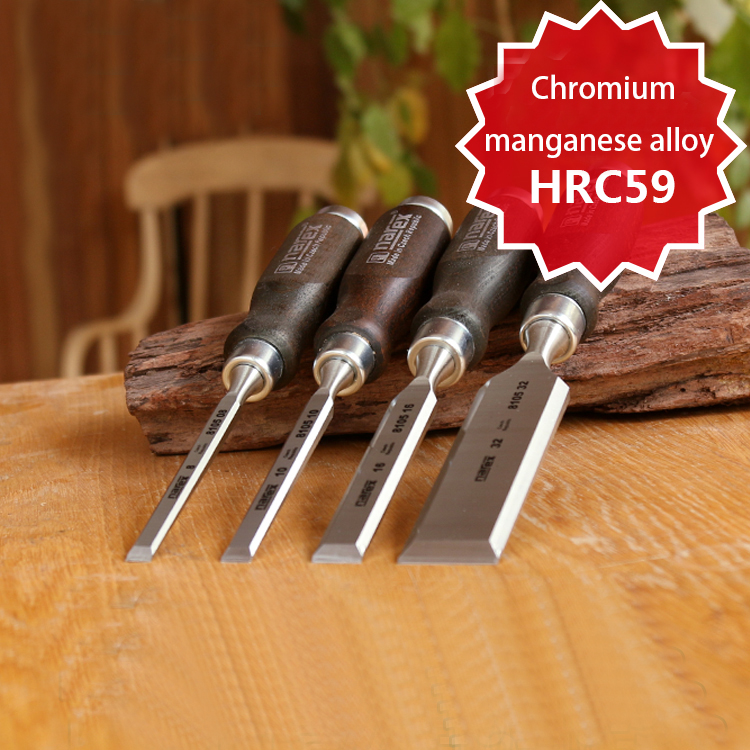 4pcs/set Narex Artisan 4-piece Chrome Manganese Steel Czech Republic Chisel 8631