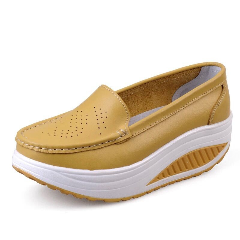 New Womens Shake Shoes Lady Genuine Leather shoes (43)