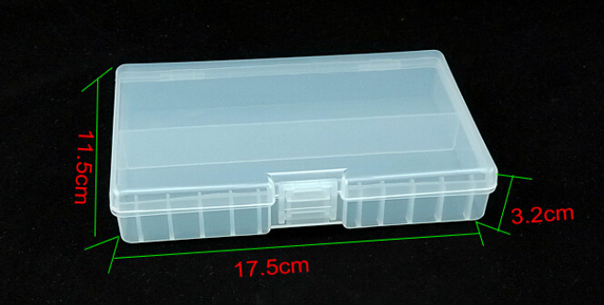 10pcs/lot AA battery Holder Protective Case Portable Plastic Battery Storage Boxes Case AA battery Organizer Container for 48 AA