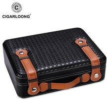 Luxury christmas gift COHIBA Cigar Box Cedar Wood case Moisturizing Cabinet Humidor CA-0409