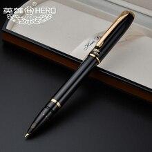 Hero Vulpennen Authentieke 1079 Ultrafijne Pen 0.38mm Studenten Office Business Gift Box Zwart Roze Geel Blauw GRATIS Verzending